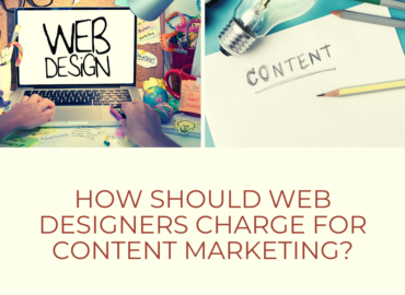 How Should Web Designers Charge for Content Marketing?