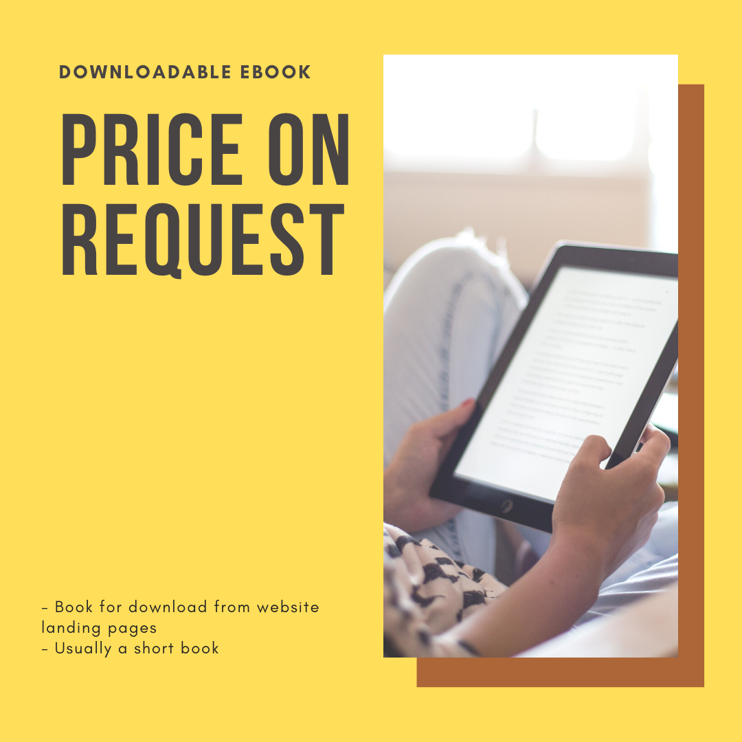 Ghostwritten eBook Pricing