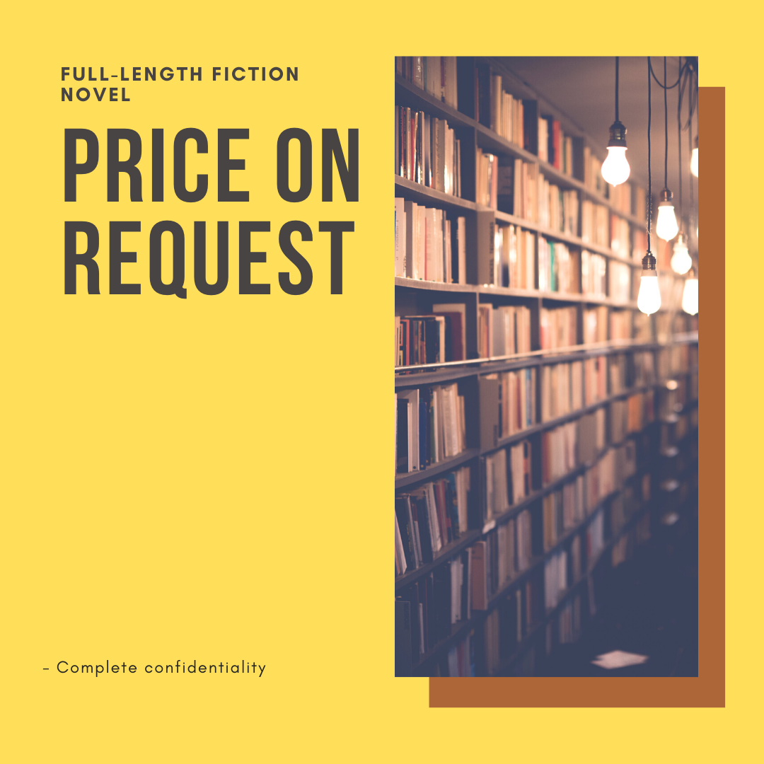 Ghostwritten Fiction Novel Pricing