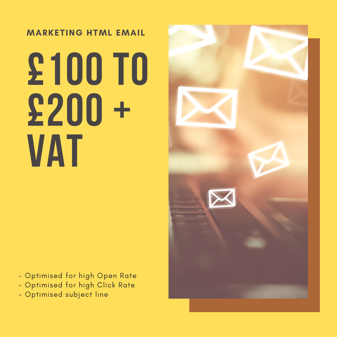Ghostwritten HTML Email Pricing