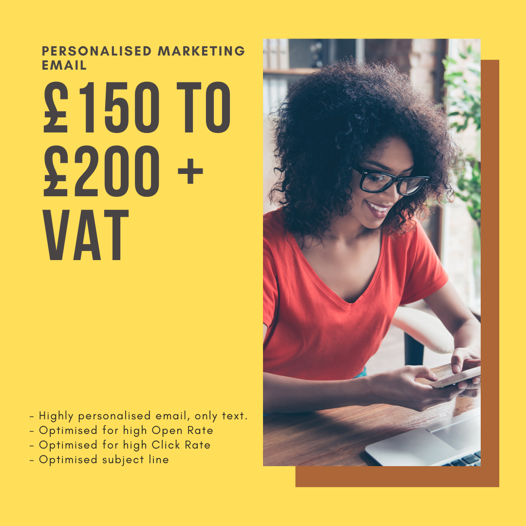 Ghostwritten Email Pricing