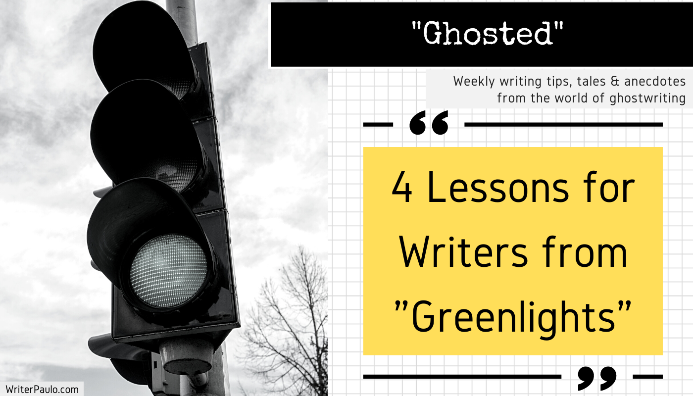 4 writing lessons from greenlights book